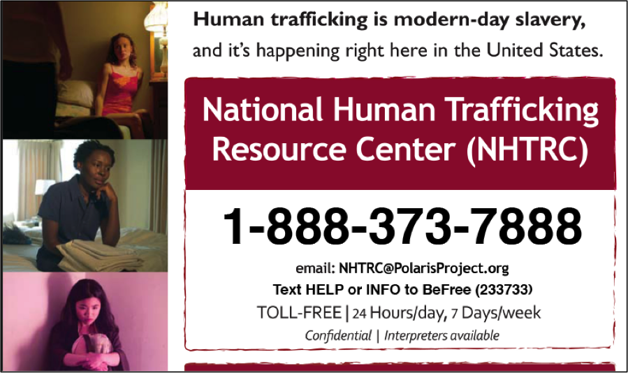 National Human Trafficking Hotline  >> Information for Teens - Runaway & Homeless Youth and ...