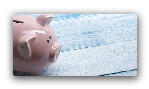 Earned Income Tax Credit and Other Tax Credits- image depicting a piggy bank