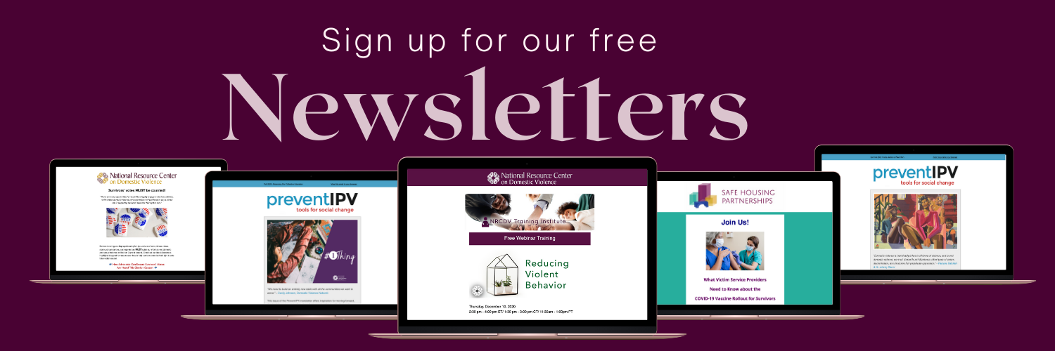 Sign up for our free newsletters